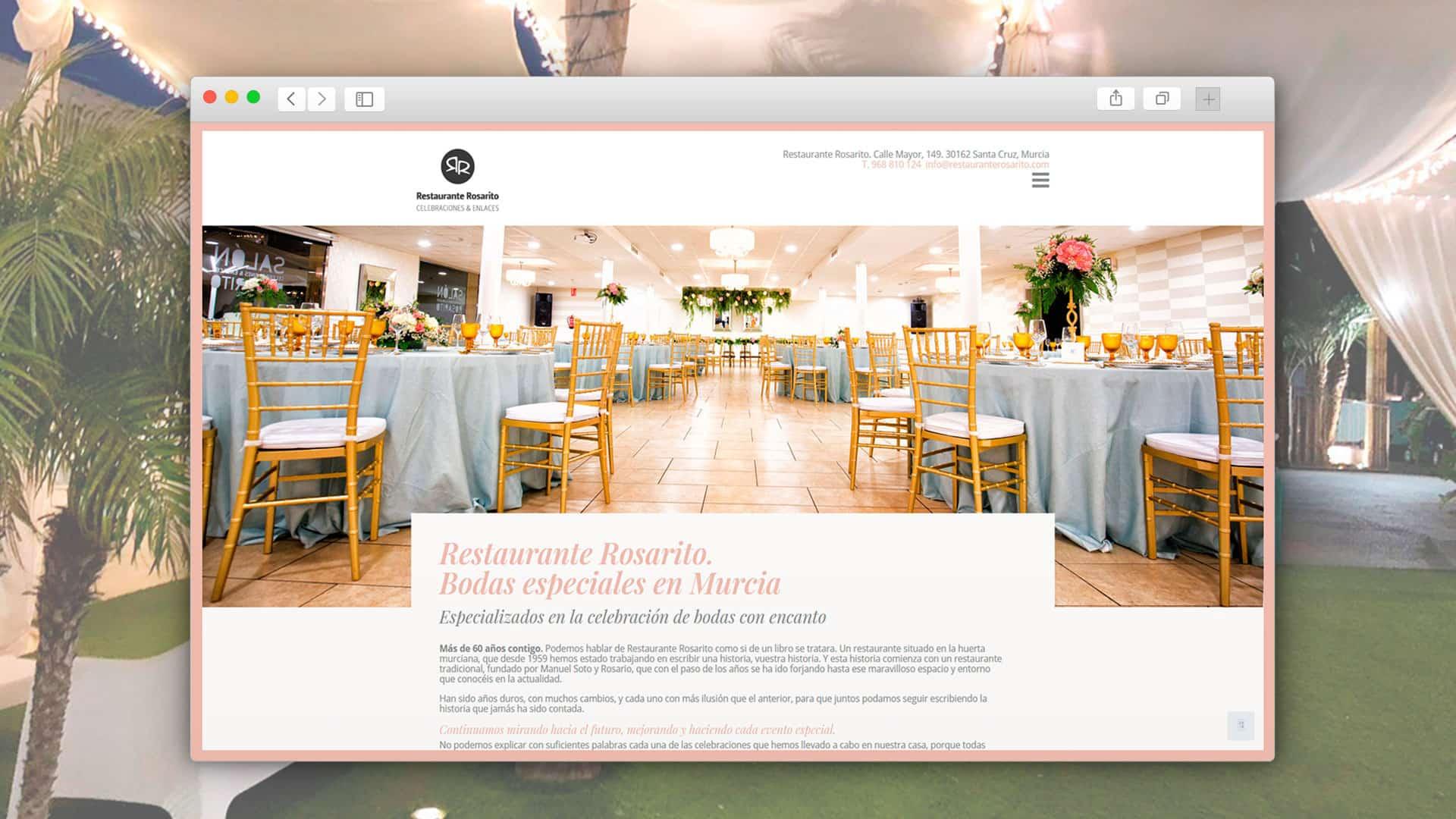Web en WordPress optimizada para SEO.